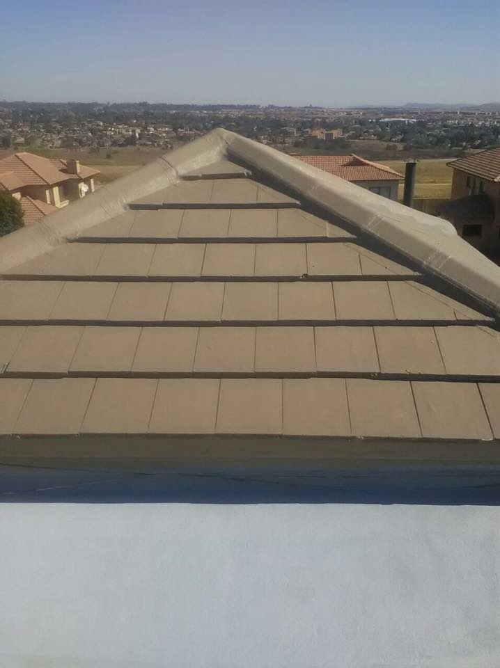 WP of Tile roof hips and Concrete Slab, After