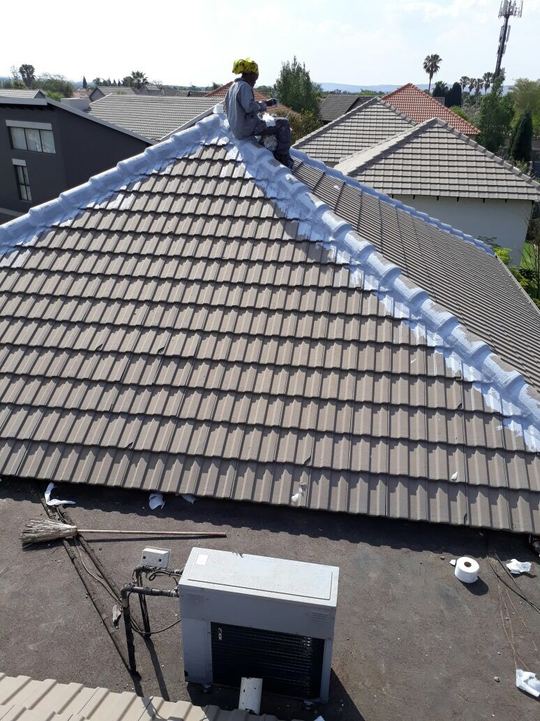 WP of Tile roof hips and Concrete Slab