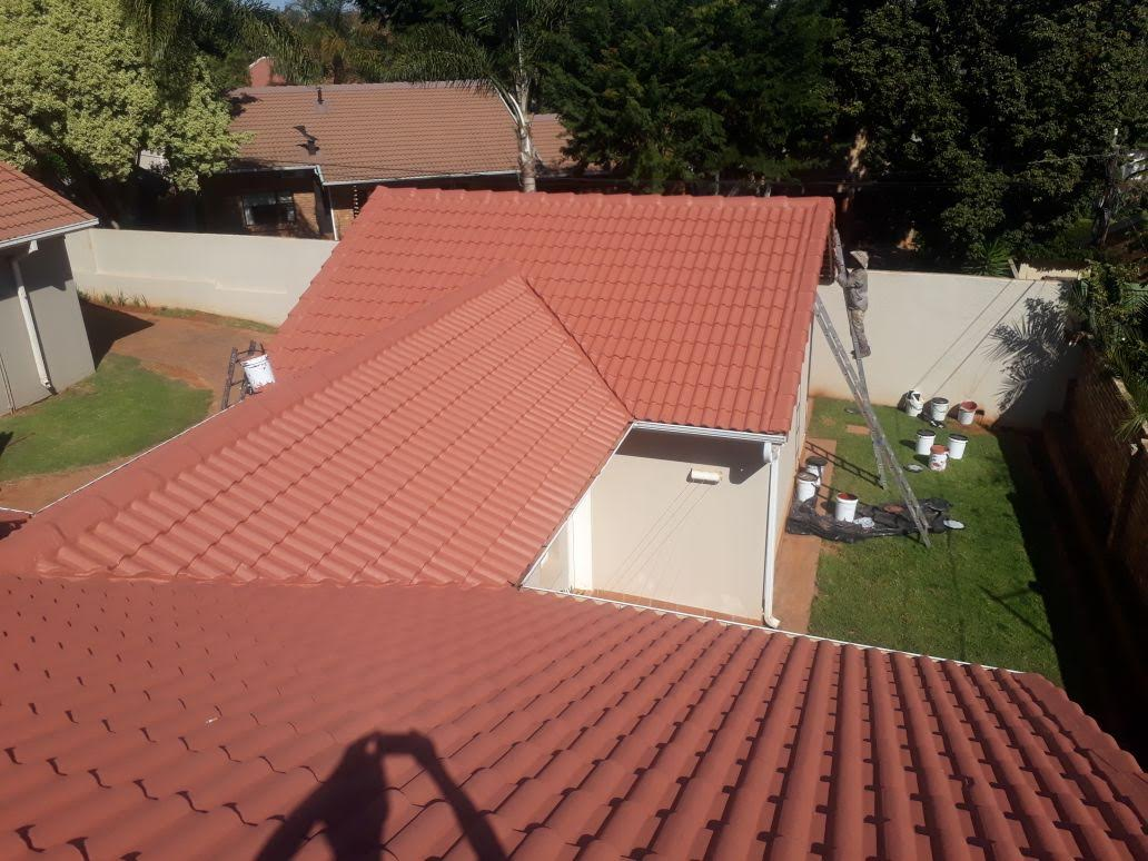 Tile roof maintenance